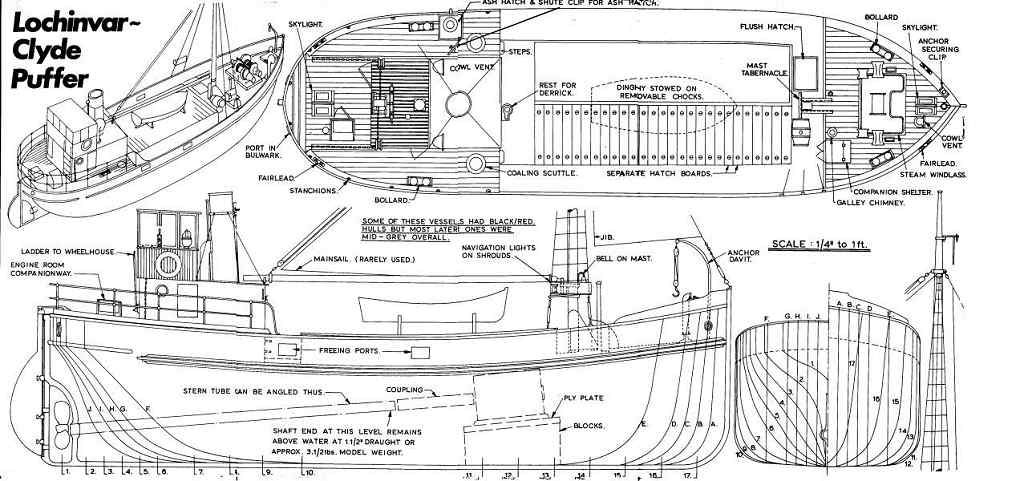 Cargo Ship Plans Archives - Page 3 of 3 - Free Ship Plans